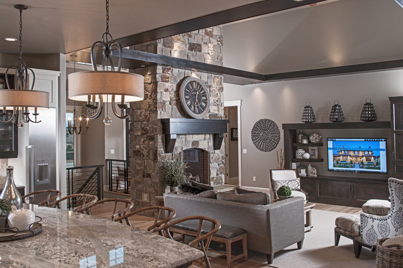 Brannen Design & Construction custom home interior