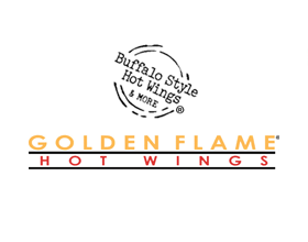 Golden Flame Hot Wings